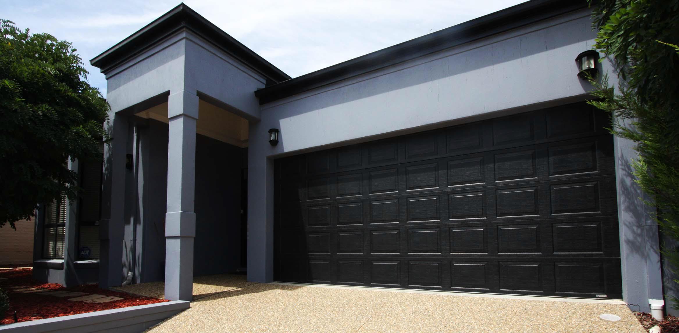 Double Panel Alu Zink Garage Door Products Garage